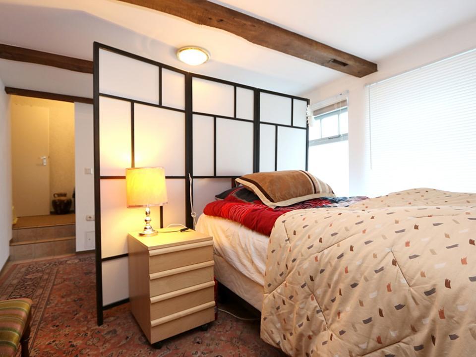 Schlafbereich der Gästewohnung